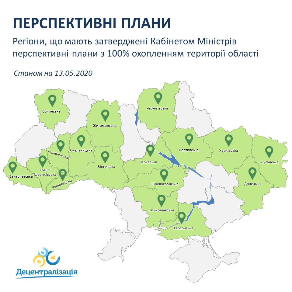 Кабмін ухвалив рішення про переформатування об'єднаних громад Кіровоградщини